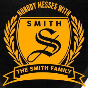Nobody Messes With The Smith Family T-Shirts - Bandana
