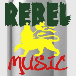 rebel music T-Shirts - Water Bottle