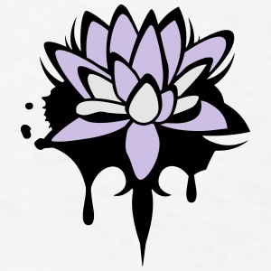 Lotus flower graffiti Accessories - Men's T-Shirt