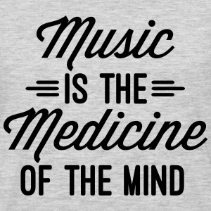 Music Medicine Of The Mind  T-Shirts - Men's Premium Long Sleeve T-Shirt