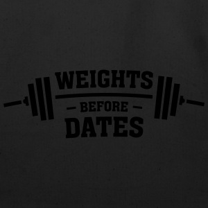 Weights Before Dates Tanks - Eco-Friendly Cotton Tote