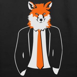 Fox in Suit T-Shirts - Eco-Friendly Cotton Tote