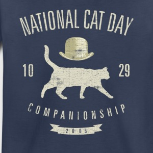 National cat day 10.29.20 Kids' Shirts - Toddler Premium T-Shirt