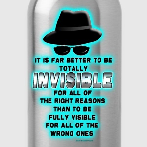 Invisibility - Water Bottle