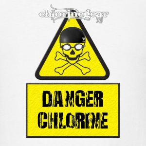 DANGER CHLORINE Buttons - Men's T-Shirt