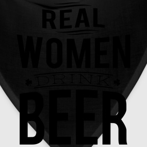 Real women drink beer Women's T-Shirts - Bandana