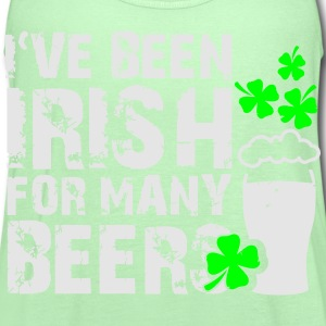 I've been irish for many beers T-Shirts - Women's Flowy Tank Top by Bella