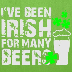 I've been irish for many beers T-Shirts - Tote Bag