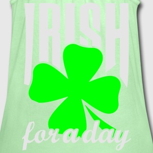Irish for a day T-Shirts - Women's Flowy Tank Top by Bella