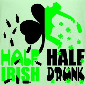 Half irish, half drunk T-Shirts - Women's Flowy Tank Top by Bella