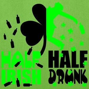 Half irish, half drunk T-Shirts - Tote Bag