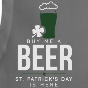Buy me a beer, St. Patrick's day is here T-Shirts - Adjustable Apron