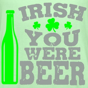 Irish you were beer T-Shirts - Women's Flowy Tank Top by Bella