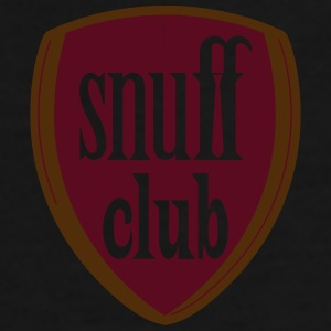snuff club coffee cup, blue - Men's Premium T-Shirt