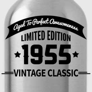 Birthday 1955 Vintage Classic Aged To Perfection - Water Bottle