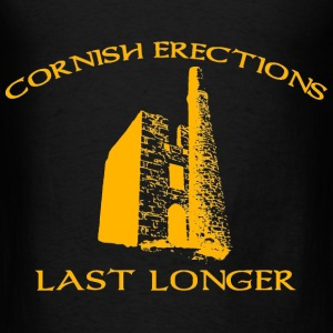 Cornish Last Longer Hoodies - Men's T-Shirt