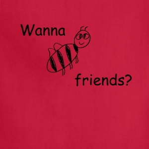 bee_friends T-Shirts - Adjustable Apron