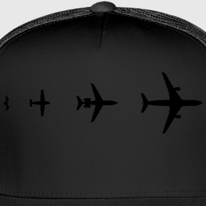 Aircraft Evolution Shirt - Trucker Cap