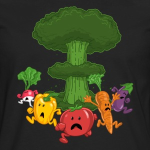 Vegetable Armageddon - Men's Premium Long Sleeve T-Shirt