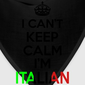 I Can't Keep Calm I'm Italian Women's T-Shirts - Bandana