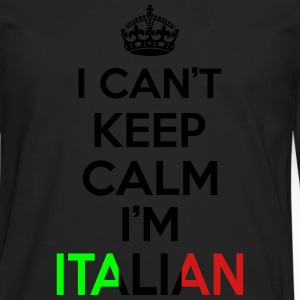 I Can't Keep Calm I'm Italian Women's T-Shirts - Men's Premium Long Sleeve T-Shirt