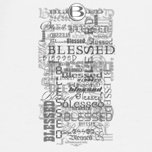 iPhone 6 Blessed Rubber Case - Men's Premium T-Shirt