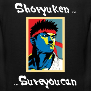 Sure You Can (Ryu) - Men's Premium Tank