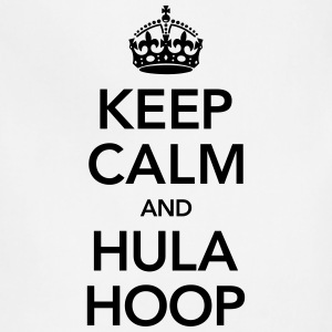Keep Calm And Hula Hoop T-Shirts - Adjustable Apron