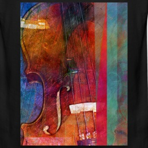 Violin Abstract One - Men's Premium Tank
