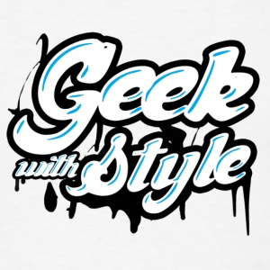 geek with style  Tank Tops - Men's T-Shirt