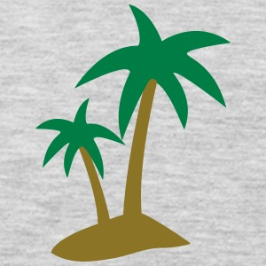 palm tree T-Shirts - Men's Premium Long Sleeve T-Shirt