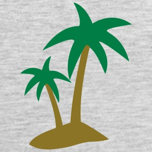 palm tree T-Shirts - Men's Premium Tank