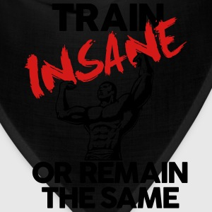 Train Insane Gym Motivation Hoodies - Bandana