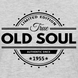 Birthday 1955 Old Soul Vintage Classic Edition - Men's Premium Long Sleeve T-Shirt