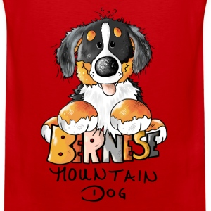 Cute Bernese Mountain Dog  Women's T-Shirts - Men's Premium Tank