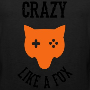 Crazy - Like a Fox T-Shirts - Men's Premium Tank