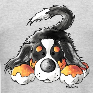Cute Bernese Mountain Dog  Long Sleeve Shirts - Men's T-Shirt