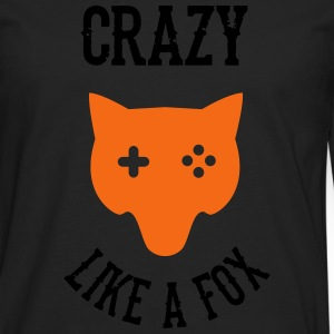 Crazy - Like a Fox T-Shirts - Men's Premium Long Sleeve T-Shirt
