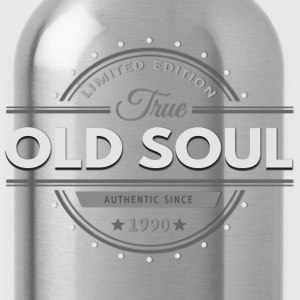 Birthday 1990 Old Soul Vintage Classic Edition - Water Bottle