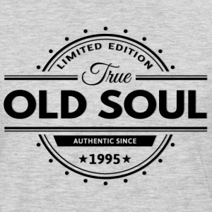 Birthday 1995 Old Soul Vintage Classic Edition - Men's Premium Long Sleeve T-Shirt