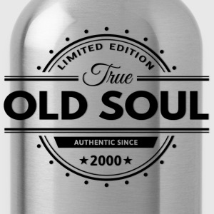Birthday 2000 Old Soul Vintage Classic Edition - Water Bottle