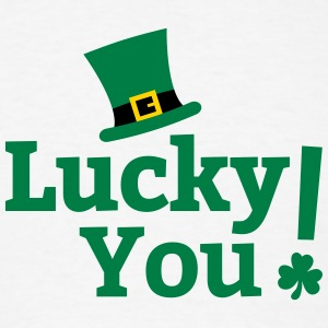 Lucky You St Patricks Day Long Sleeve Shirts - Men's T-Shirt