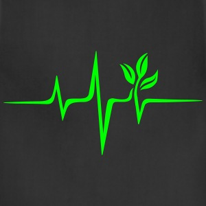 Pulse Green, Go Vegan, Save Earth, Wave, Heartbeat T-Shirts - Adjustable Apron