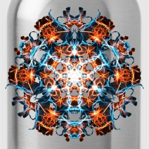 Power Symbol, Fractal Art, Energy, Hero, Superhero T-Shirts - Water Bottle
