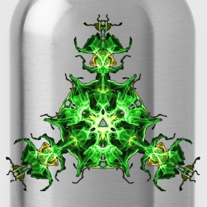 Force Shield, Power, Superhero, Fractal, Energy T-Shirts - Water Bottle