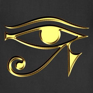 Eye of Horus - symbol protection & healing I T-Shi - Adjustable Apron