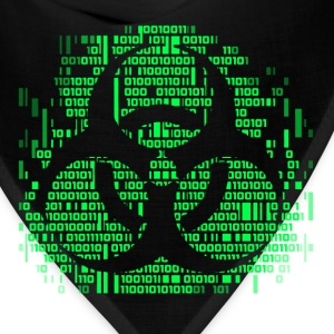 Biohazard Binary Green T-Shirts - Bandana