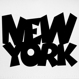 New York T-Shirt (Women White/Black) - Trucker Cap
