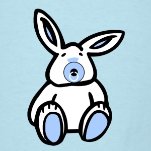 Easter Blue Baby Bunny - Men's T-Shirt