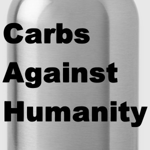 Carbs Against Humanity T-Shirts - Water Bottle